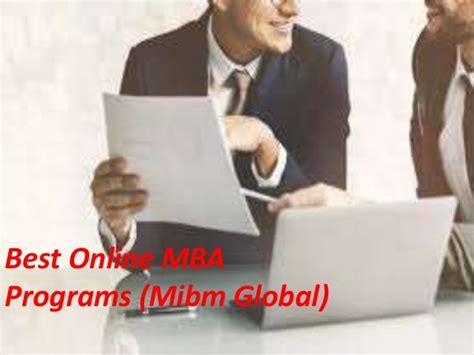 Best Mba Specialization In Canada by Best Mba Programs Mba With Specialization In Mibm