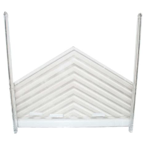 lucite headboard king size lucite headboard at 1stdibs