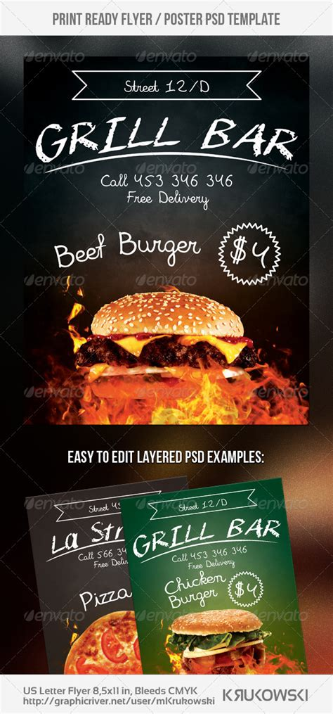 Graphicriver The Event Flyer Template Bundle Vol 1 Grill 187 Dondrup Com Graphicriver Event Flyer Template