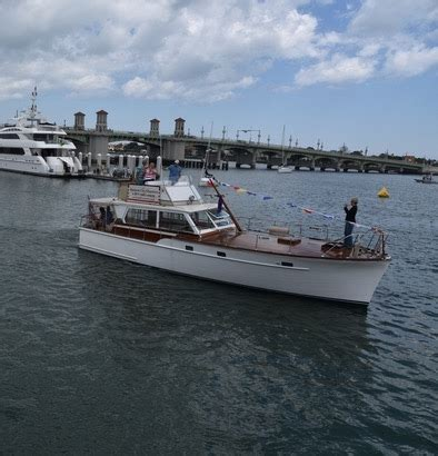 st augustine charter boats charter yacht harbor tours nights of lights boat