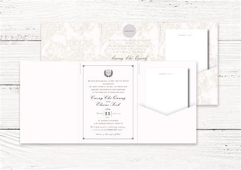 tri fold thank you card template tri fold wedding invitation cards on behance