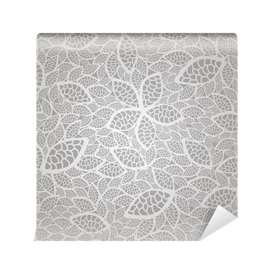 silver pattern png seamless silver lace leaves wallpaper pattern wall mural