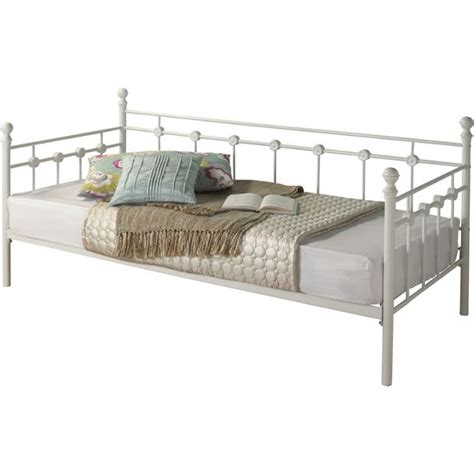 Metal Daybed Frame Buy Collection Abigail Metal Single Daybed Frame White At Argos Co Uk Your Shop For