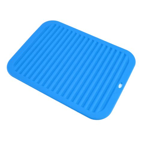 Drying Mat For Dishes by Kitchen Durable Rectangle Silicone Dish Drying Mat Pad Premium Heat Resistant Ga Ebay