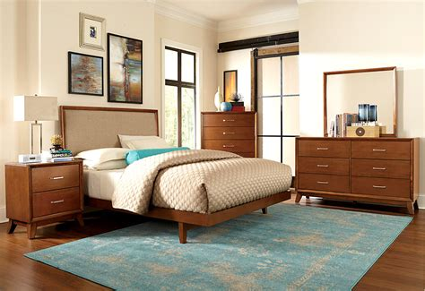 classic mid century master bedroom design with king size mid century modern bed zoom image wing chair bed