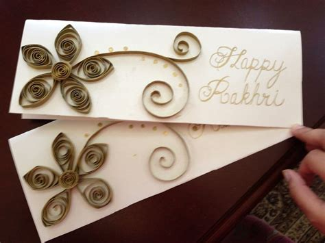 Images Of Handmade Rakhi Cards - handmade rakhi card do ing it myself