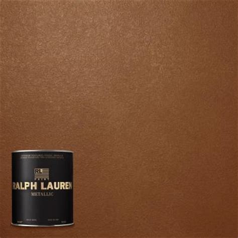ralph 1 qt copper luster metallic specialty finish interior paint me141 04 the home depot