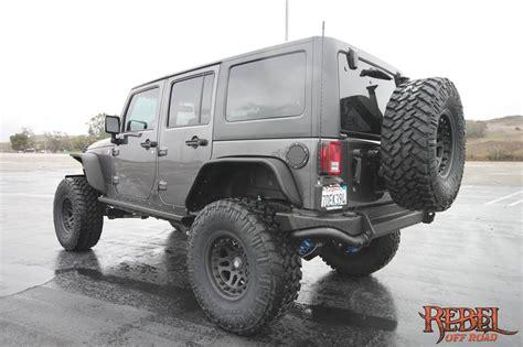 jeep rebelcon war machine 2014 rebelcon wrangler unlimited rear side