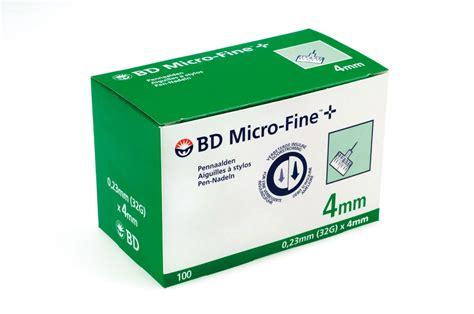 b d bd microfine ultra 4mm insulin needles