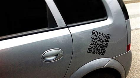 Qr Code Aufkleber F Rs Auto by Qr Code Witte Mediendesign Werbeagentur Bielefeld