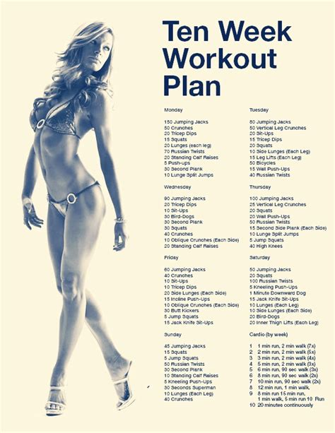 6 week home workout plan 6 week home workout plan musely
