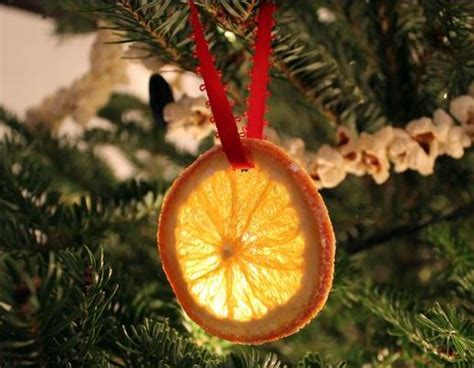 orange coloured christmas decorations how to make an original tree decoration orange slices
