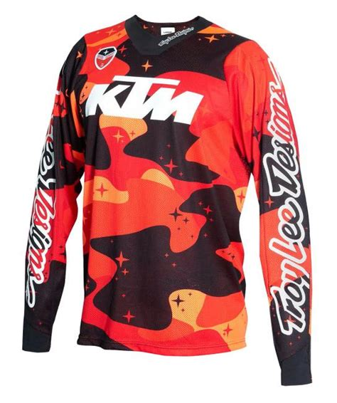 Ktm Apparel Usa Ktm Se Air Jersey Cosmic Camo Mazzante