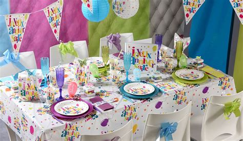 Decoration Pour Fete by Decoration Fete Pas Cher