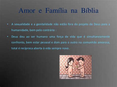 familia amorosa amor e familia na biblia
