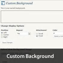 wordpress themes custom background how to enable custom background in wordpress 3 0 themes