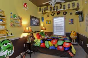 Candy Themed Bedroom The Sweet Escape M Amp M Mania Candy Bedroom