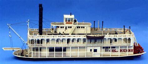 river boat model kits john legry productions riverboat model