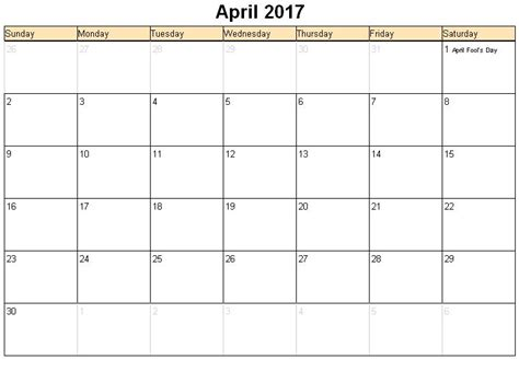 printable calendar agenda 2017 april 2017 calendar with holidays uk calendar printable free
