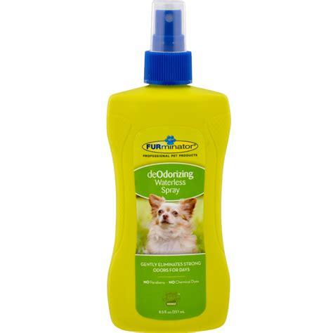 deodorizing spray furminator deodorizing waterless spray for dogs 8 5 oz healthypets