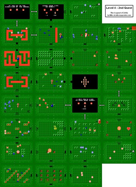 legend of zelda map quest 2 overworld legend of zelda overworld quest 2 map legend usa states