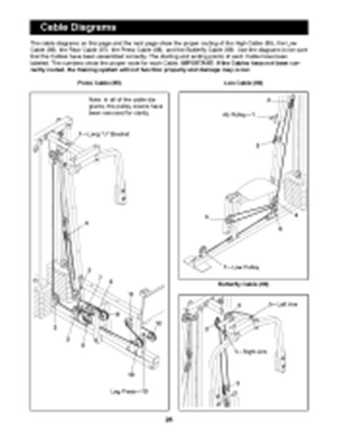 weider pro 9925 manual page 23