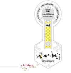 Beschriftung Honigglas by Honigetiketten Design F 252 R Honig Honigglasetiketten