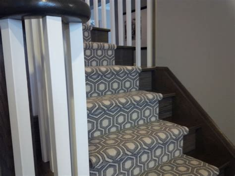 grey patterned stair carpet modern stair runner staircase traditional with animal