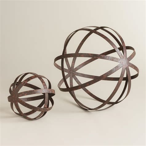 Decorative Sphere by Iron Sphere Decor World Market