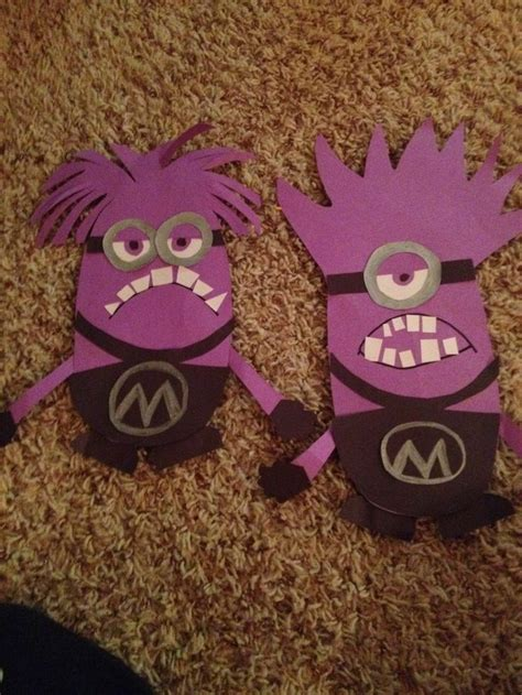 Purple Craft Paper - purple minion craft construction paper things i