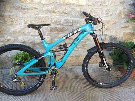 swing arm mountain bike 2015 yeti sb6c mountain bike excellent condition