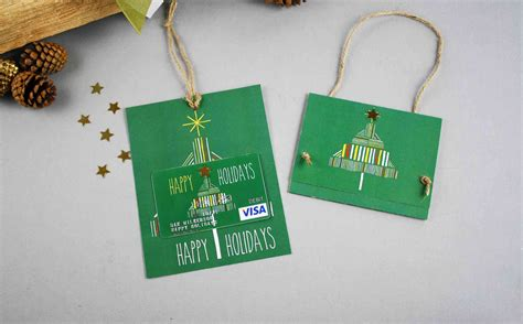 Gift Card Carrier - free gift card printable happy holidays gcg