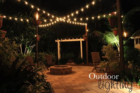 hanging lights in backyard best 25 cheap fire pit ideas on pinterest cinder block
