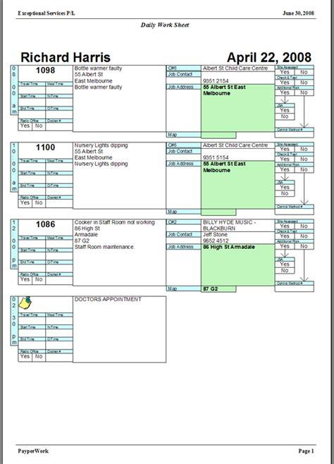 plumbing job sheet template okl mindsprout co