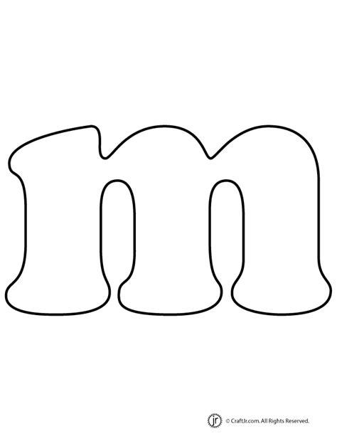 printable bubble letters lowercase lowercase bubble letter m woo jr kids activities
