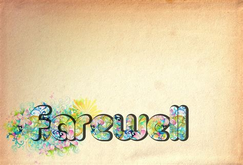 Farewell Backgrounds Wallpaper Cave Farewell Presentation Template