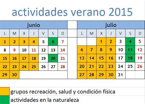 Cargo Largo Calendar Cursos Y Actividades Deportivas Verano 2015 Unirioja Deporte