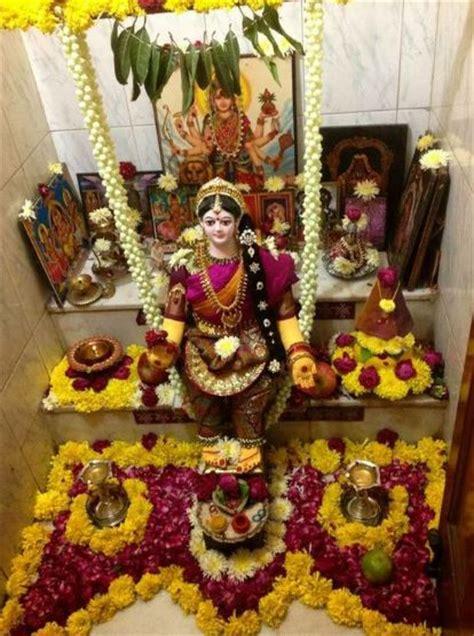 pooja decorations at home varalakshmi pooja decoration ideas 20 lovely telugu