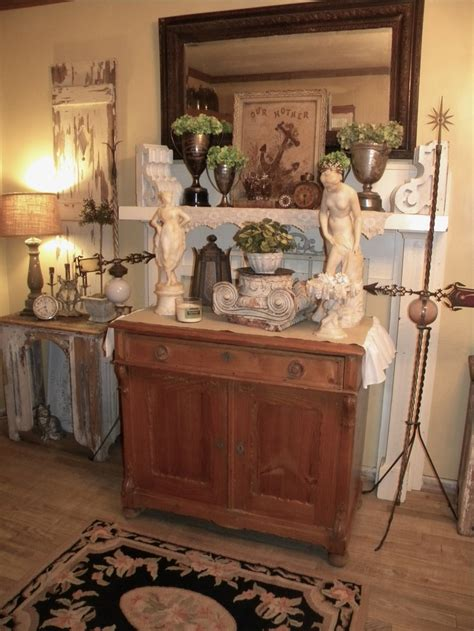 mantel display vignettes pinterest