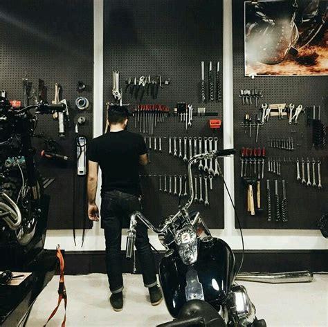 garage shop designs best 25 motorcycle garage ideas on motorcycle