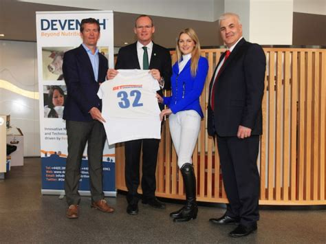Nenna And At Bet Show Launch by Bet Show Jumping Live Launched Devenish Nutrition