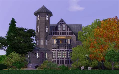 gothic victorian house mod the sims aunt helena s a gothic victorian house