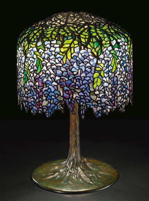 tiffany studios wisteria tabl lighting sothebys