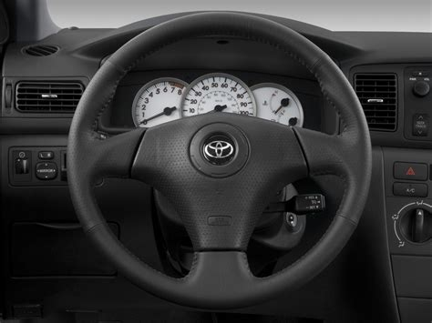 toyota steering wheel 2008 toyota corolla reviews and rating motor trend
