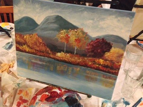 paint nite irvine wine and canvas class in orange county