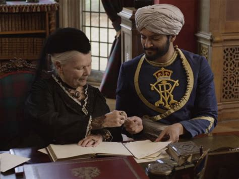 film queen and abdul victoria and abdul pg close up film review