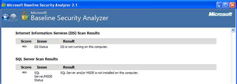 pitt technology help desk help the microsoft baseline security analyzer mbsa