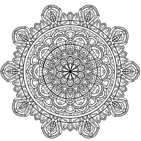 Circles Mandala 4 By Welshpixie On Deviantart Mandala Circles Coloring Pages