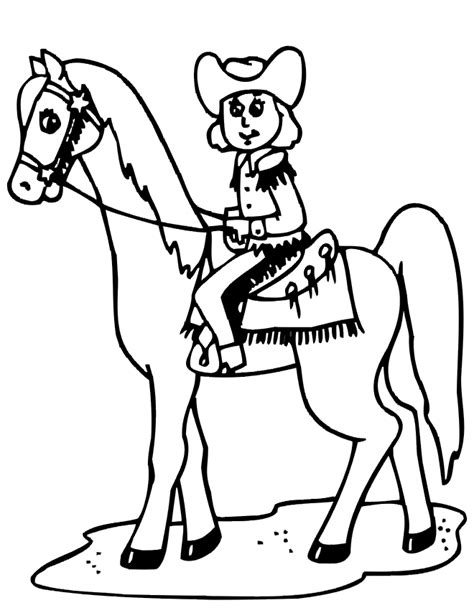 coloring pages of cowgirls and horses index of coloringpages horse coloring pages horse cowboy