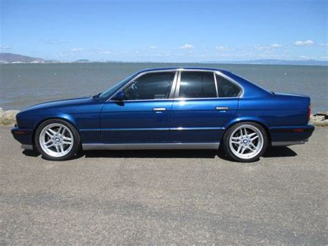 bmw e34 m5 blue find used stunning 1992 bmw e34 m5 import 3 8 liter
